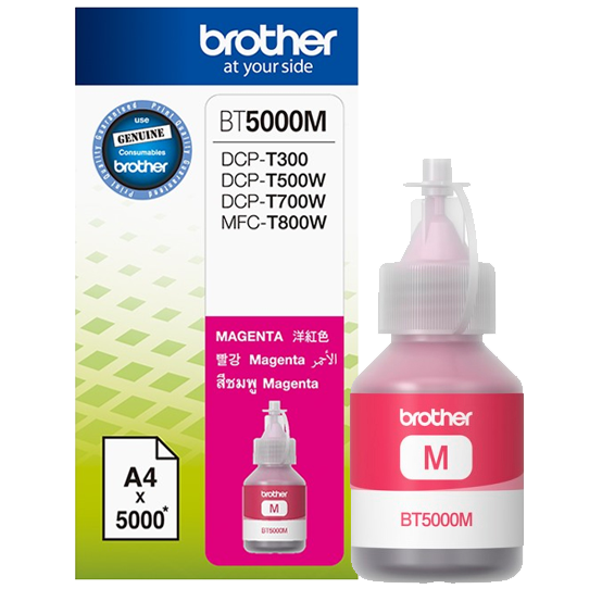 Mực in Brother BT5000M Magenta Ink bottle (BT5000M)