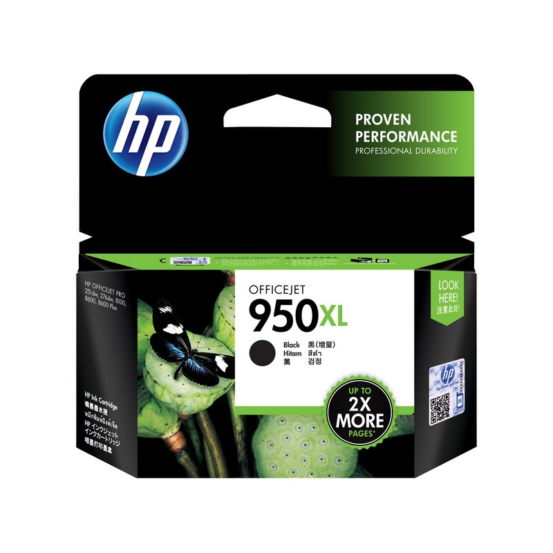 Mực in HP 950XL Black Officejet Ink Cartridge (CN045AE)